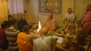 Ягья на явление Бхагавад-Гиты